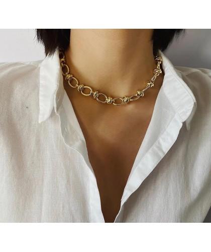 Collar Eslabones Vintage