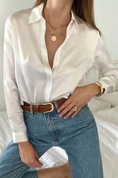 Camisa blanca perfecta